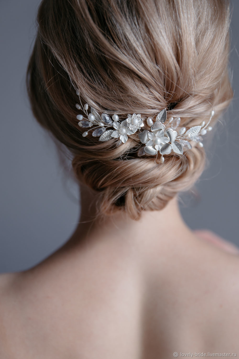 Hairpins for the bride 'Florina', Hairpin, St. Petersburg,  Фото №1