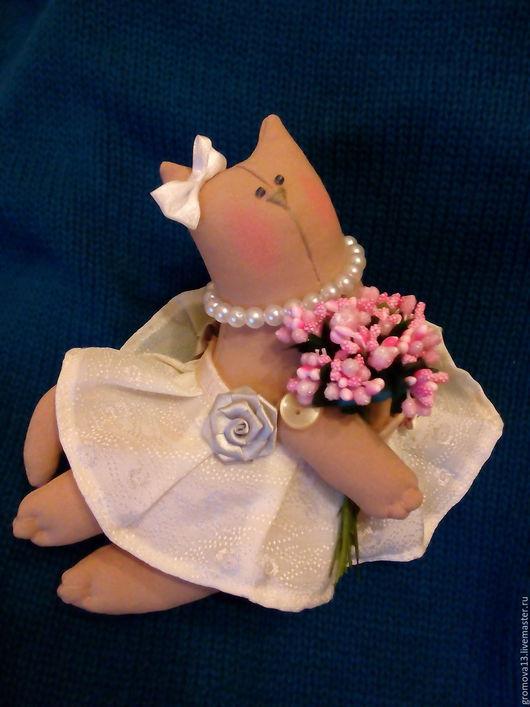"""Куклы Тильды ручной работы. Ярмарка Мастеров - ручная работа. Купить кошка тильда """"Изабелла"""". Handmade. Бежевый, кот тильда"""