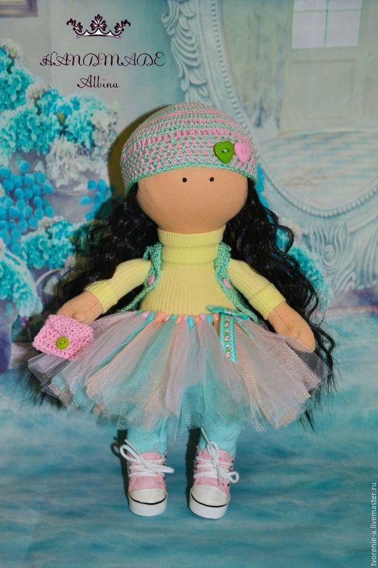 Куклы тыквоголовки ручной работы. Ярмарка Мастеров - ручная работа. Купить Интерьерная текстильная кукла. Handmade. Кукла, кукла девочке