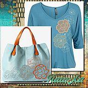 Материалы для творчества handmade. Livemaster - original item Floral kaleidoscope. Set of designs for machine embroidery.. Handmade.
