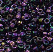 Материалы для творчества handmade. Livemaster - original item 5g Delica 11/0 DB004 Purple Iris Metallic Japanese beads Delica. Handmade.