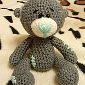 Куклы и игрушки ручной работы. Ярмарка Мастеров - ручная работа Игрушка Мишка вязаный. Handmade.