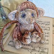 """Куклы и игрушки ручной работы. Ярмарка Мастеров - ручная работа Плюшевая обезьянка """" Пианист"""". Handmade."""
