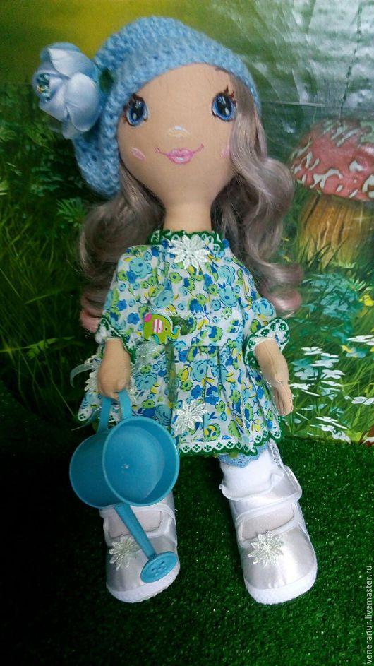 Коллекционные куклы ручной работы. Ярмарка Мастеров - ручная работа. Купить - 25% скидка Текстильная кукла Нюша. Handmade. большеножка