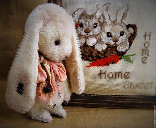 Мишки Тедди ручной работы. Ярмарка Мастеров - ручная работа. Купить Кролик Мартин. Handmade. Белый, мишки тедди, гранулят