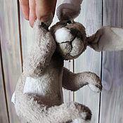 """Куклы и игрушки ручной работы. Ярмарка Мастеров - ручная работа Мартовский кролик """" Степка"""". Handmade."""