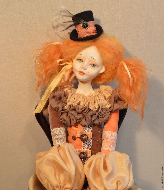 Будуарная кукла ручной работы