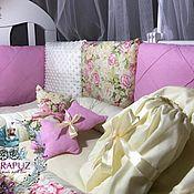 Текстиль ручной работы. Ярмарка Мастеров - ручная работа Бортики подушки. Handmade.