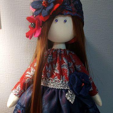 Куклы и игрушки ручной работы. Ярмарка Мастеров - ручная работа Текстилььная кукла.. Handmade.
