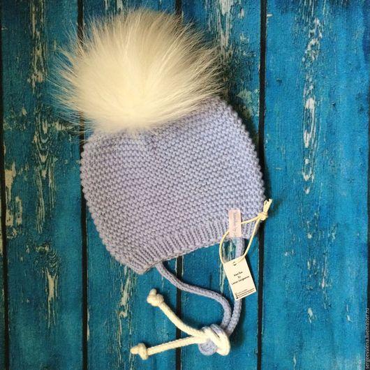 Шапки и шарфы ручной работы. Ярмарка Мастеров - ручная работа. Купить Нежнейшая шапуля с шикарным помпоном. Handmade. Шапочка вязаная