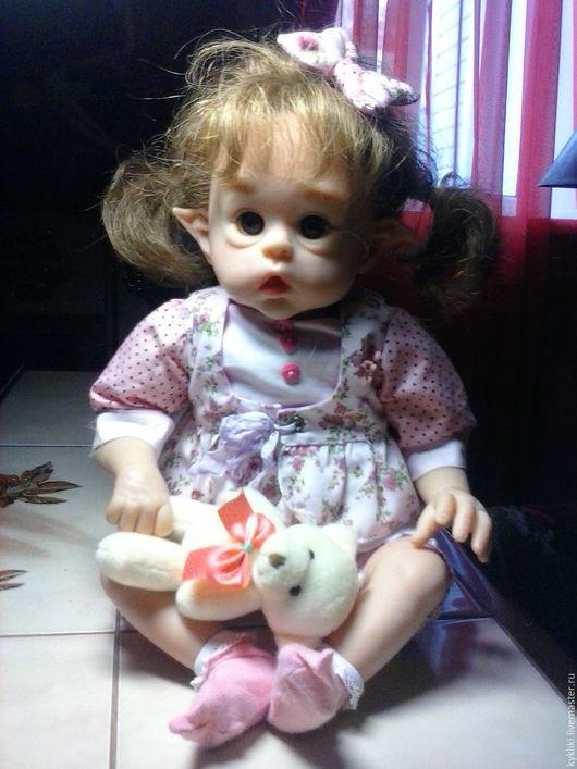 Куклы-младенцы и reborn ручной работы. Ярмарка Мастеров - ручная работа. Купить Луиза. Handmade. Бежевый, кукла для девочки