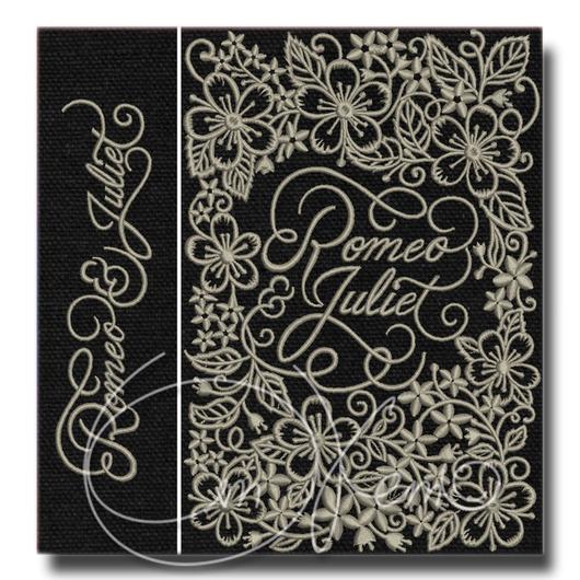 Дизайн для клатча-книги. Машинная вышивка. Программа для машинной вышивки.