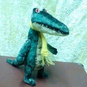 Куклы и игрушки ручной работы. Ярмарка Мастеров - ручная работа крокодил  Крокоша. Handmade.