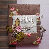 Канцелярские товары handmade. Livemaster - original item Diary Victoria. Handmade.