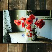 Картины ручной работы. Ярмарка Мастеров - ручная работа Маки. Handmade.