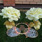 Элементы интерьера ручной работы. Ярмарка Мастеров - ручная работа Настольный светильник роза. Handmade.