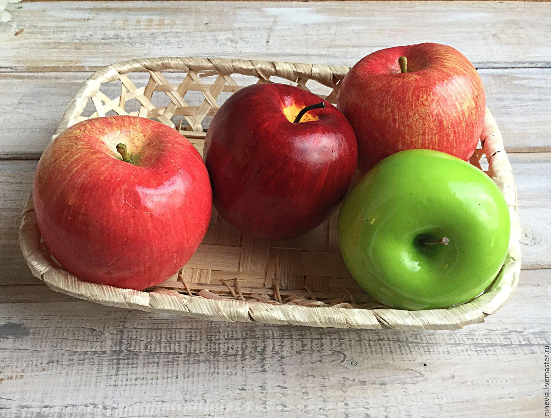 Муляж яблока своими руками 56