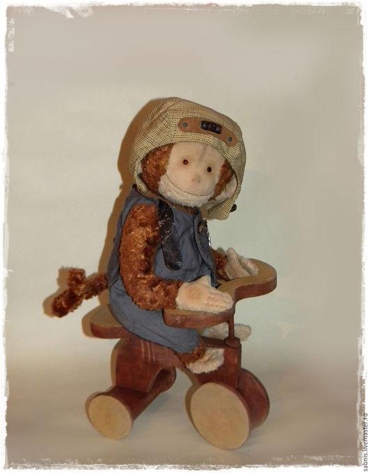 Мишки Тедди ручной работы. Ярмарка Мастеров - ручная работа. Купить Обезьянчик. Handmade. Комбинированный, мартышка, плюш