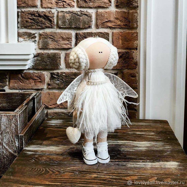 Doll: Angel is white with kolechkami Textile doll handmade, Dolls, Kiev,  Фото №1