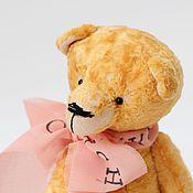 Куклы и игрушки ручной работы. Ярмарка Мастеров - ручная работа Мишка тедди Абрикос- мягкая игрушка. Handmade.