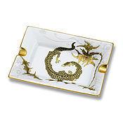 Для дома и интерьера handmade. Livemaster - original item Porcelain ashtray