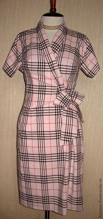 Платья ручной работы. Ярмарка Мастеров - ручная работа. Купить Платье жемчужно-розовое, лёгкое, из хлопка.. Handmade. Кремовый