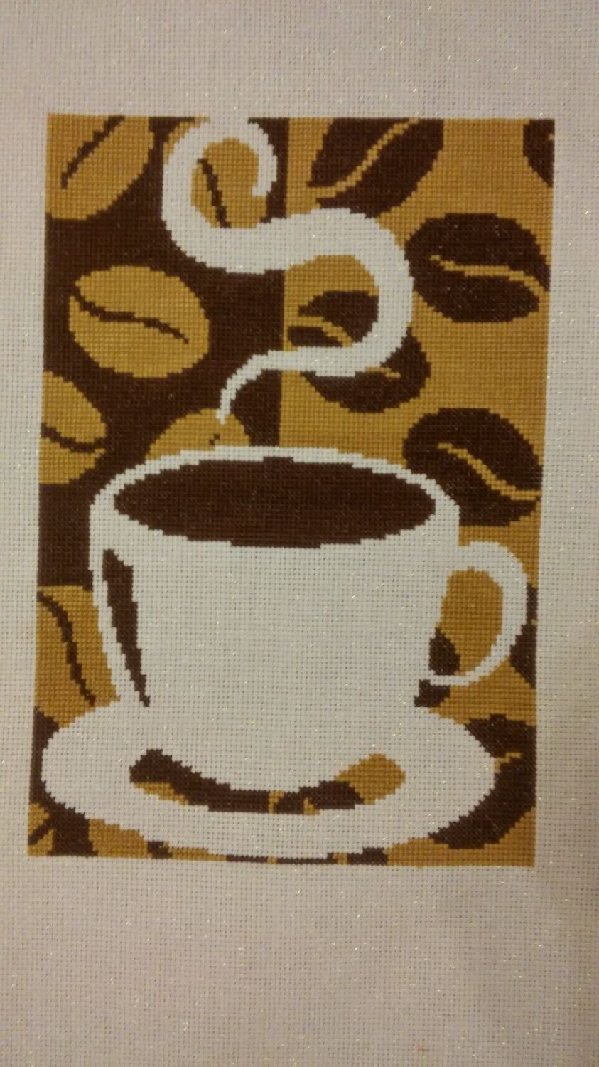 Embroidery 'Coffee', Pictures, Krasnoturinsk,  Фото №1