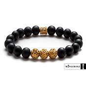 Украшения handmade. Livemaster - original item Baltic amber sun Ring bracelet with silver charms. Handmade.