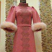 """Одежда ручной работы. Ярмарка Мастеров - ручная работа Авторское платье """"Снежный коралл"""". Handmade."""