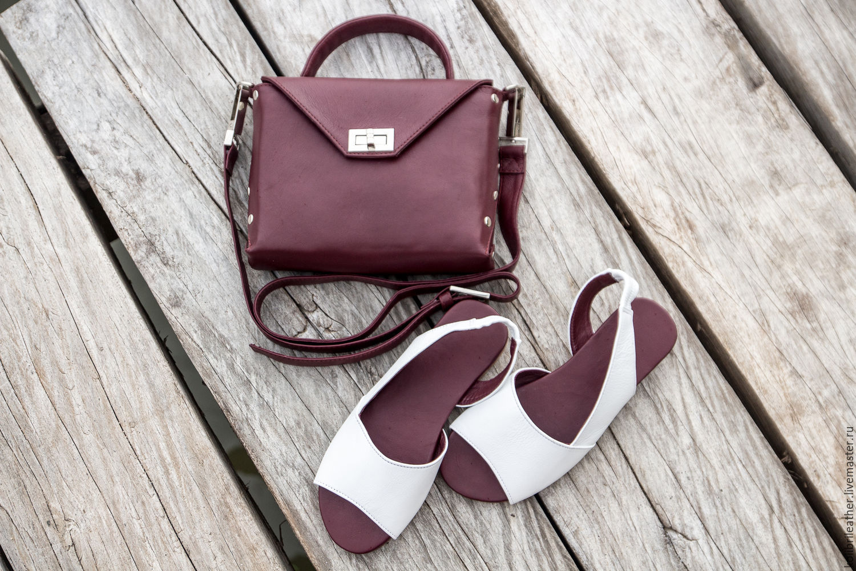 88a7efa439ff Обувь ручной работы. Ярмарка Мастеров - ручная работа. Купить Босоножки из  натуральной кожи Chloe ...