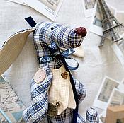 Мягкие игрушки ручной работы. Ярмарка Мастеров - ручная работа Такса собака игрушка. Handmade.