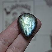 Материалы для творчества handmade. Livemaster - original item Labradorite. Cabochon 32 X 25 X 8. Handmade.