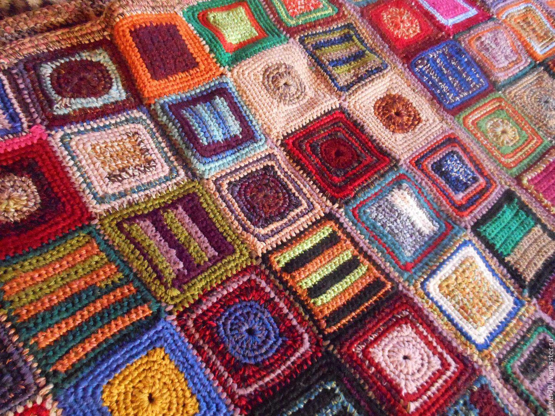 Вязание спицами пледы коврики