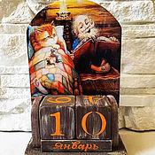 Канцелярские товары handmade. Livemaster - original item Eternal calendar House. Handmade.