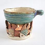 Фен-шуй и эзотерика ручной работы. Ярмарка Мастеров - ручная работа Аромалампа «Рыбки». Handmade.