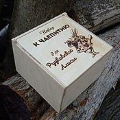 """Для дома и интерьера handmade. Livemaster - original item Шкатулка """"Алиса в стране чудес"""". Handmade."""