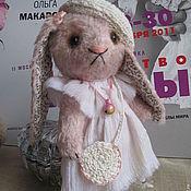 Куклы и игрушки ручной работы. Ярмарка Мастеров - ручная работа Зайка Тедди Зоя. Handmade.