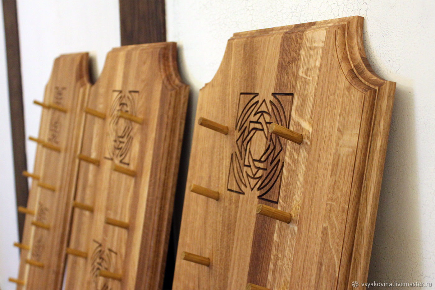 Suspension for knives made of oak (or ash), Knives, St. Petersburg,  Фото №1