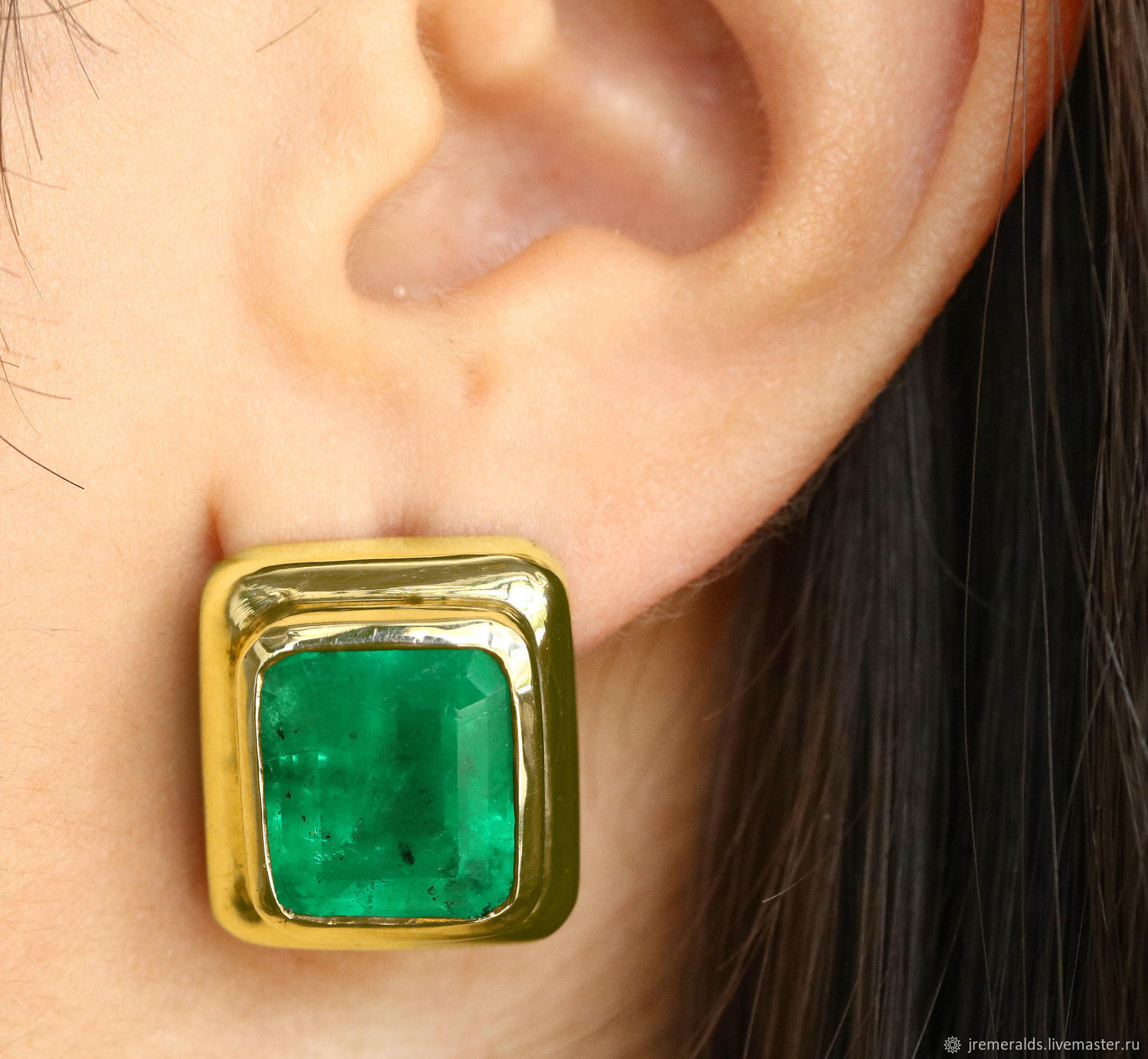 jewelry and earrings drop ct silver in two natural with diamonds emerald sterling tone gold