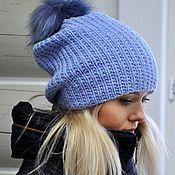 Аксессуары handmade. Livemaster - original item Hat Merino. Handmade.