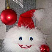 """Куклы и игрушки ручной работы. Ярмарка Мастеров - ручная работа Мягкая игрушка """"Снежка"""". Handmade."""