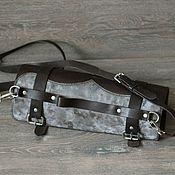 Классическая сумка ручной работы. Ярмарка Мастеров - ручная работа Скрутка для ножей из натуральной кожи. Handmade.