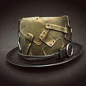 Аксессуары ручной работы. Ярмарка Мастеров - ручная работа Шляпа в стиле Стимпанк. Handmade.