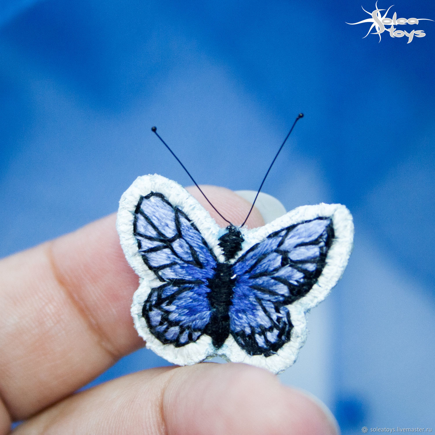 Mini butterfly brooch, Brooches, Moscow,  Фото №1