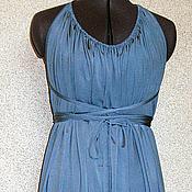 """Одежда ручной работы. Ярмарка Мастеров - ручная работа Платье-трансформер """"по следам EMAMI"""" светло-синее. Handmade."""