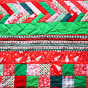 Подарки к праздникам handmade. Livemaster - original item The Christmas quilt