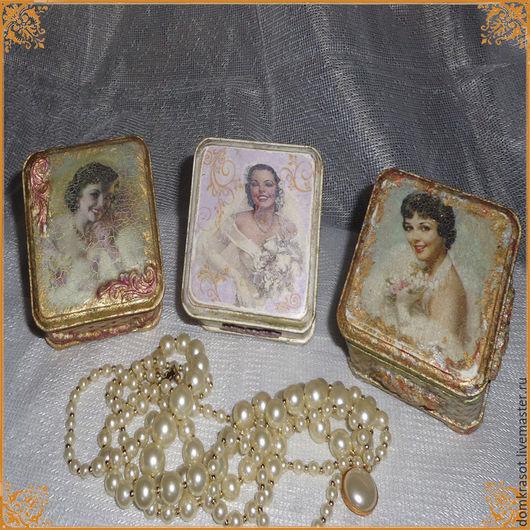 Подарочные наборы ручной работы. Ярмарка Мастеров - ручная работа. Купить Я невеста!..  Серия шкатулок. Handmade. Разноцветный, невеста