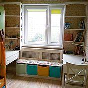 """Мебель ручной работы. Ярмарка Мастеров - ручная работа Комплект мебели """"Вокруг окна """" №4. Handmade."""