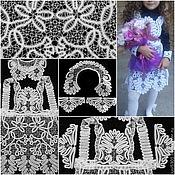 """Работы для детей, ручной работы. Ярмарка Мастеров - ручная работа Комплект """"Школьница"""" кружевной. Handmade."""