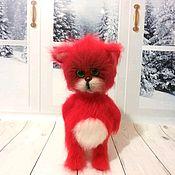 Куклы и игрушки handmade. Livemaster - original item Cat imp. Handmade.